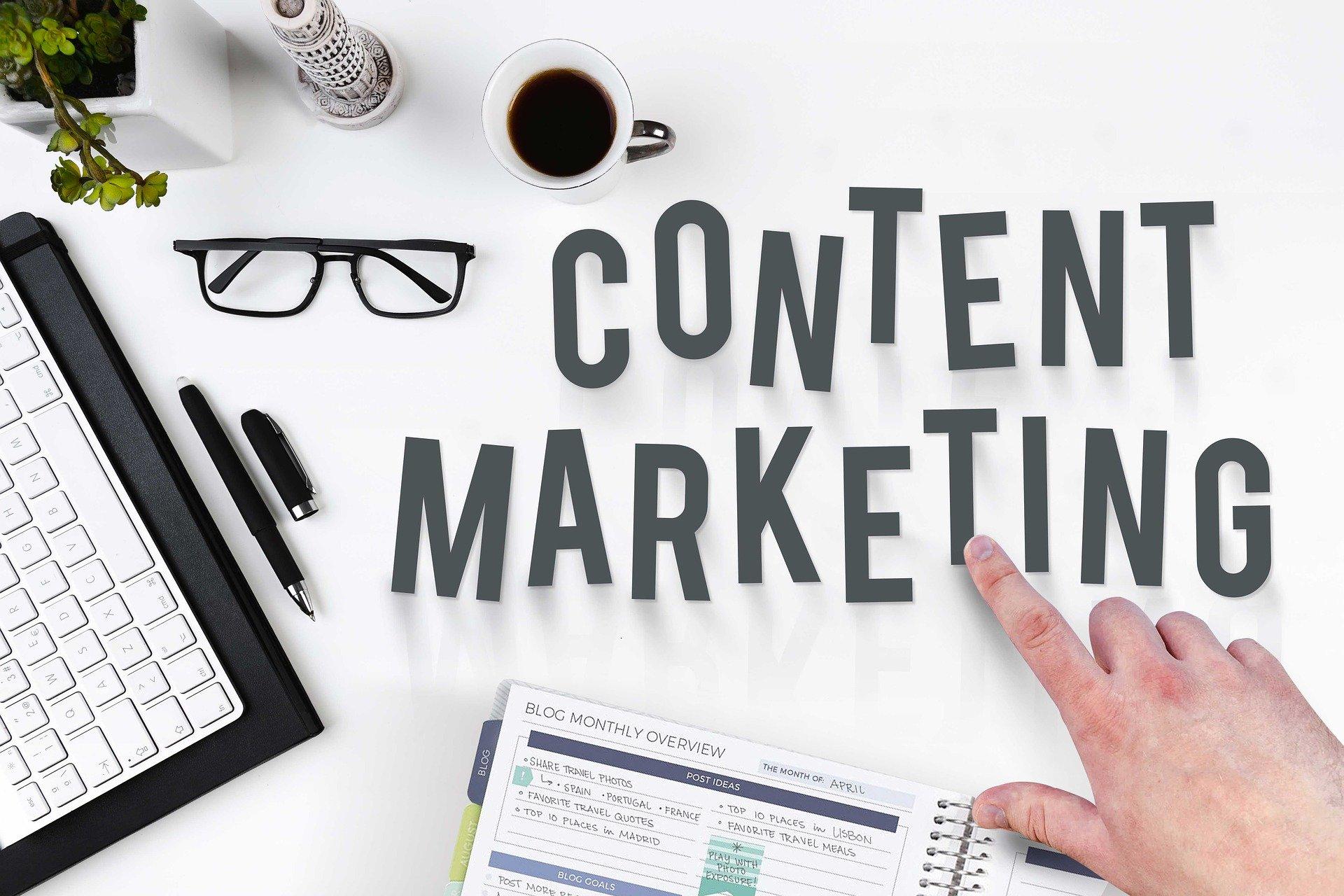 ECサイトの集客に有効なコンテンツマーケティングのメリットや方法を解説した記事内のイメージ画像です。